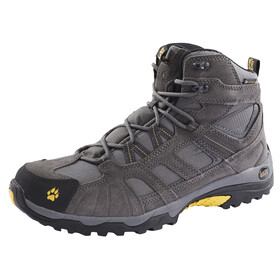 Jack Wolfskin Vojo Hike Texapore Hiking Shoes Mid Cut Men burly yellow